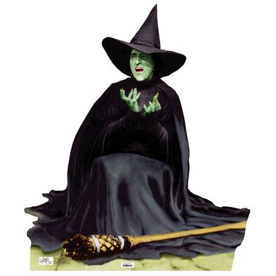Wizard of Oz - The Wicked Witch Melting Life-Size Cardboard Stand-Up