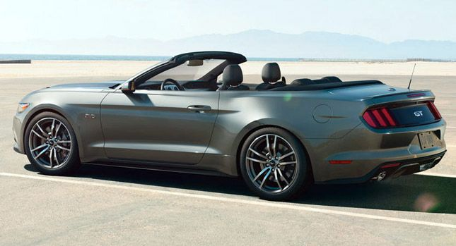 Check Out the 2015 Mustang in New Official Videos, 63 Photos Plus Live Configurator - Carscoops