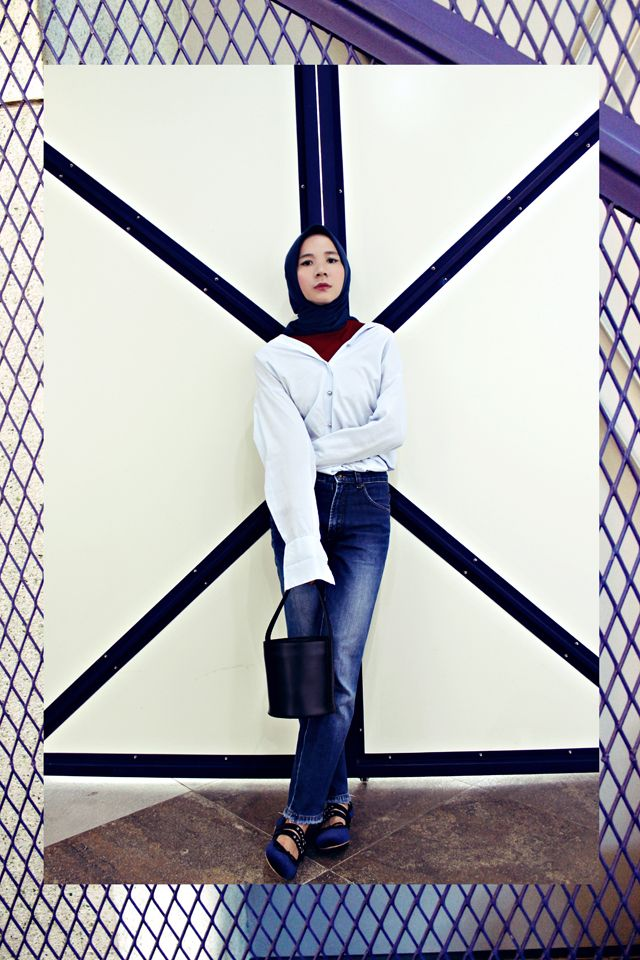 My first #hijab style outfit!