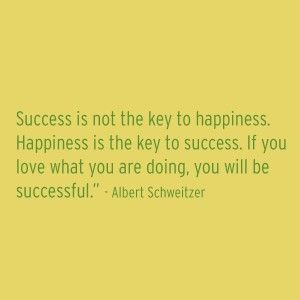 Success or Happiness? How about both? - snowy orange - Strive for happiness, success will follow  #weddingpros #striveforhappiness #businesssuccess