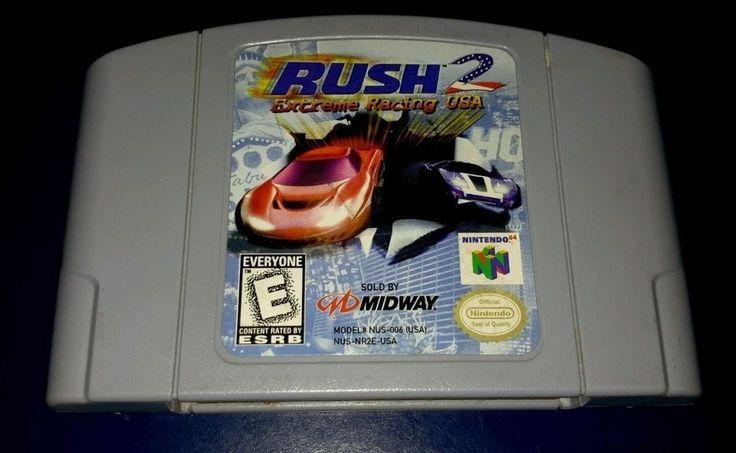 Rush 2: Extreme Racing USA (Nintendo 64, 1998)     eBay