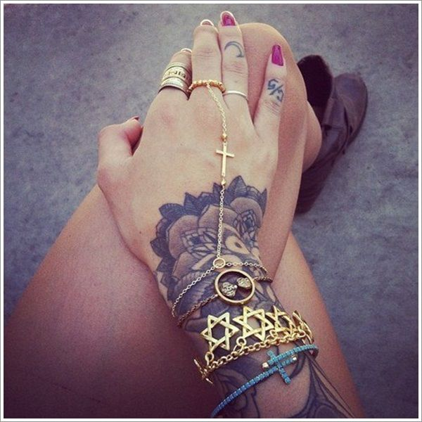 20 Unique Bracelet Tattoo Designs….