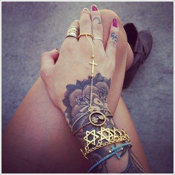 20 Unique Bracelet Tattoo Designs….