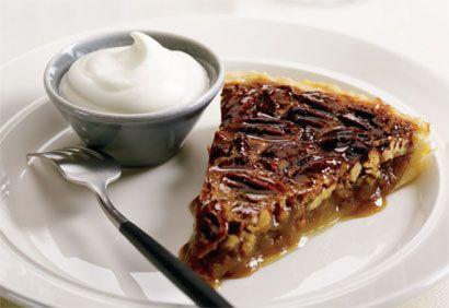 Recette Tarte aux pacanes traditionnelles #recette #noel #dessert #tarte #pacanes