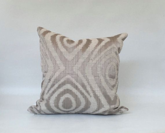 Pillow Covers Silver pillow cover Modern pillow cover
