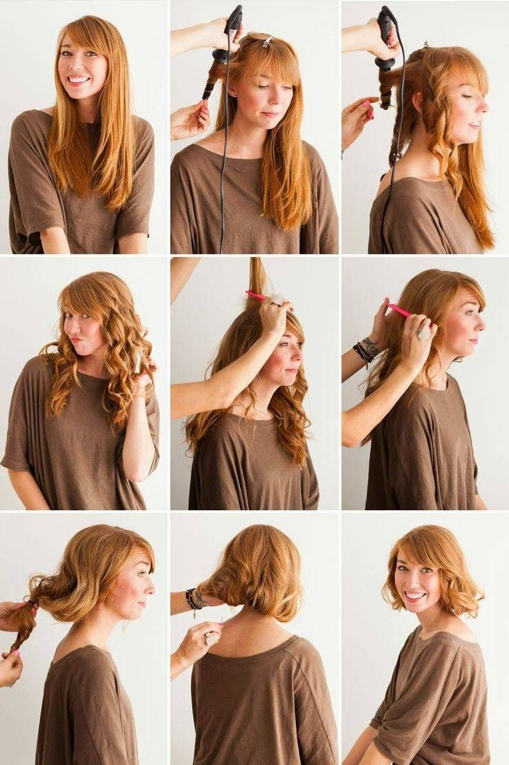 Best How To Style Long Hair To Look Short Long Hair Styles Vintage Hairstyles For Long Hair Hair Styles