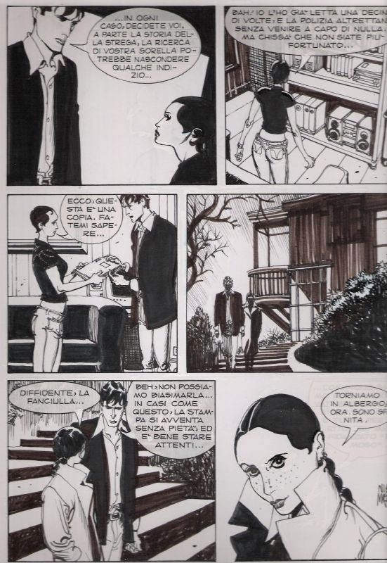 Dylan Dog n° 194 pag 18 - Mari Comic Art