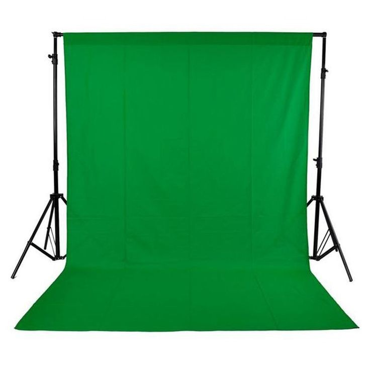 Material: Non-woven fabrics Color: Green Item Size: 3 * 1.6m / approx.10 * 5ft (L * W) Item Weight: 385g The product contains1.6 * 3M / 5ft *10ft non-woven backdrop, black, white and green color for y