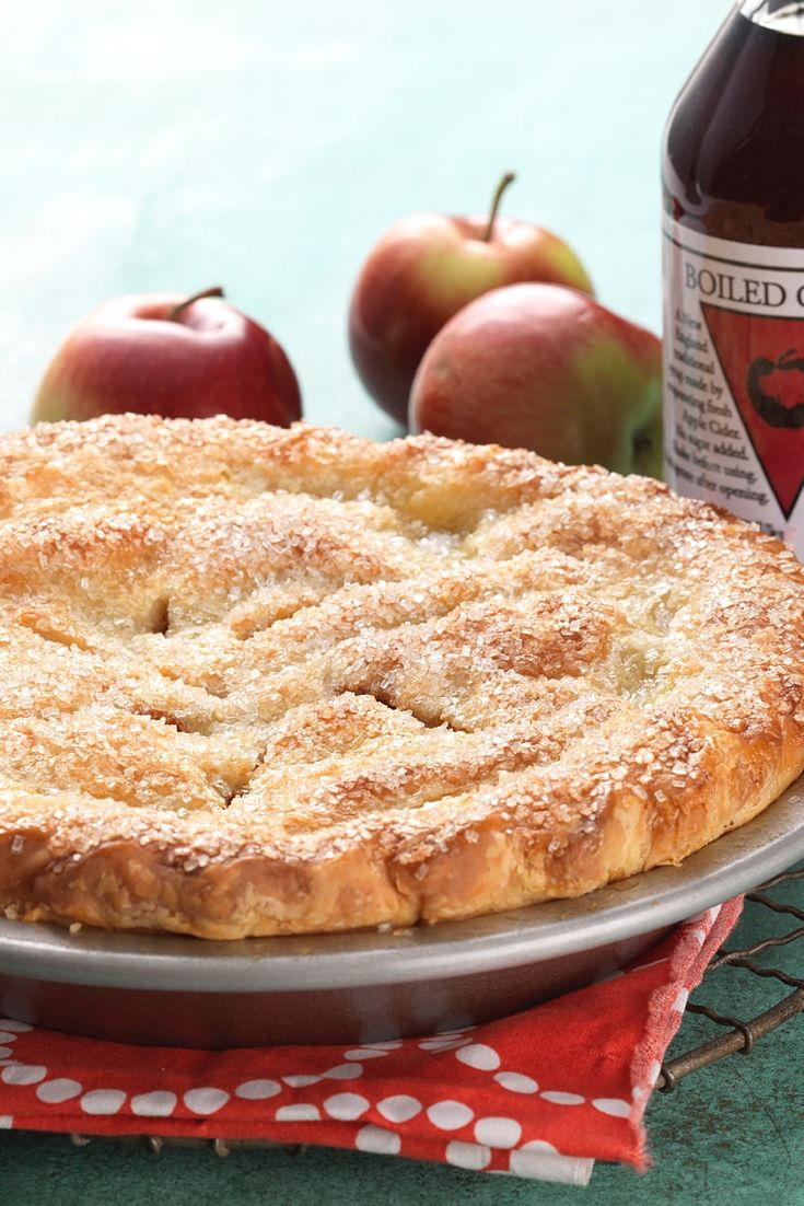 Secret Ingredient Apple Pie