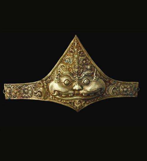 Gold kirtimukha armband, Java , Majapahit era