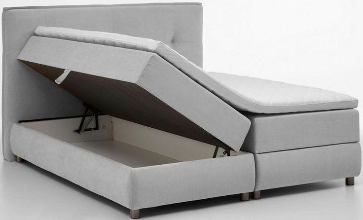 Atlantic Home Collection Boxspringbett mit Bettkasten und Topper