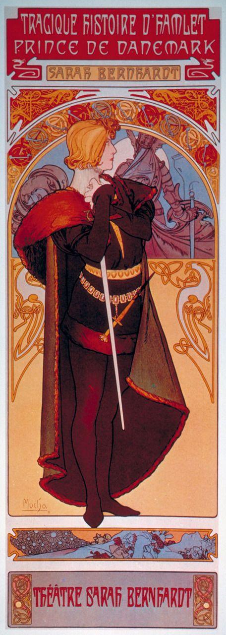 Alphonse Mucha - Hamlet (1899)........  .............................................................
