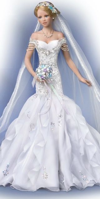Couture bride. Tonner OOAK Barbie doll