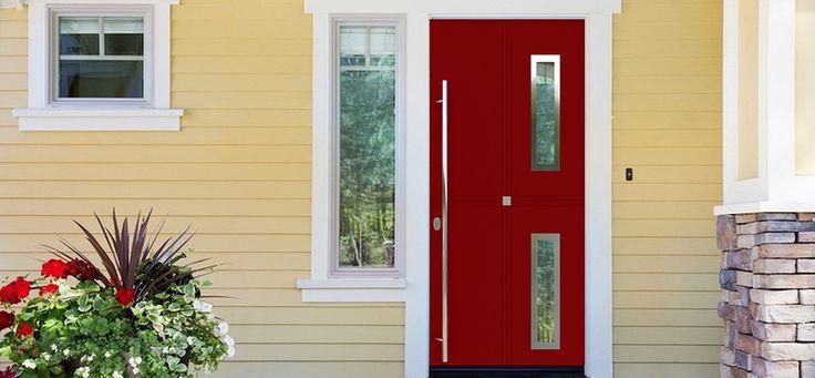 #Купить теплые входные #двери_Calida