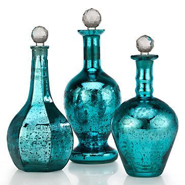 In creating our Camilleri Bottles, Z Gallerie has added the coveted look of antiqued etched glass to the stunning decorative pieces.