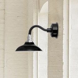 Chic Peony LED Armed Sconce