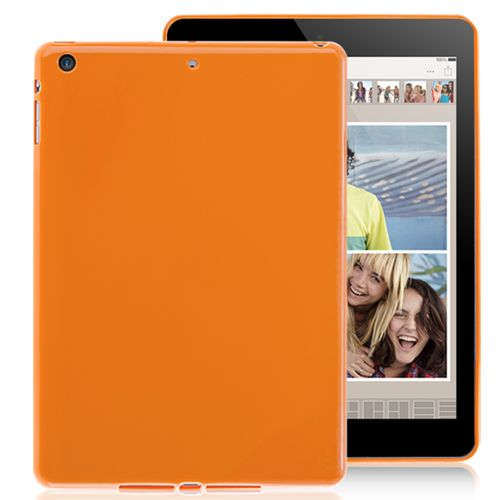 New iPad Air TPU Solid Colorful Case Cover - Orange Color #ipadaircase #ipadair #ipadcase #casecover #tpucase #colorfulcase #popularcase #bestoftheday #300likes #photooftheday #pinterest #lovelycase #cute #colorful #case #cellz.com #cheapcase $1.98