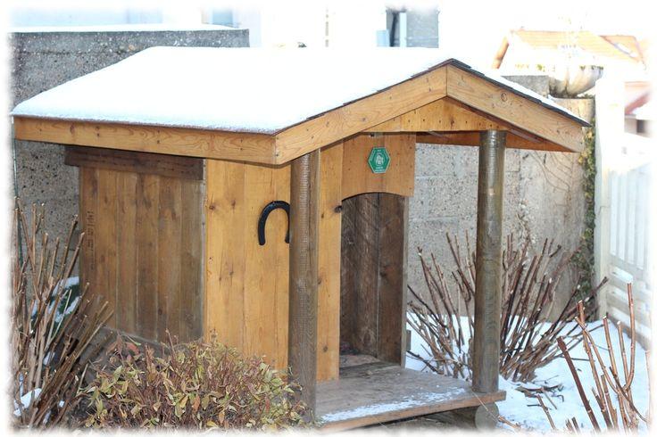 17 best images about niche chien on pinterest diy dog - Comment construire une niche pour chien gratuit ...
