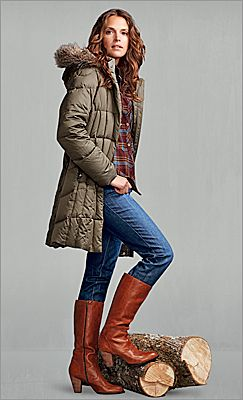 Eddie Bauer Lodge Down Parka - will this make me look like a frumpy soccer mom?
