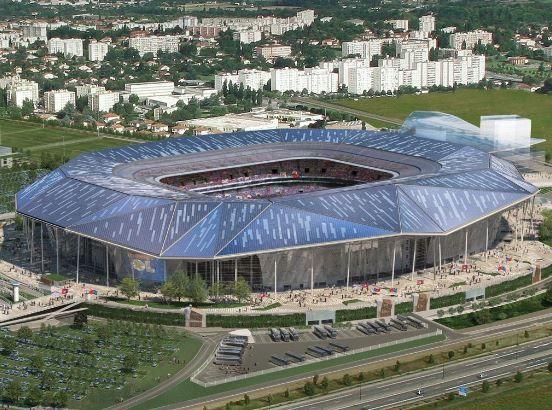 Grand stade OL / Stade des lumieres Lyon