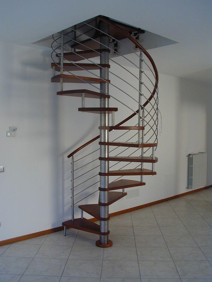 17 migliori idee su gradini per scale su pinterest scala for Scala a chiocciola di 5 piedi
