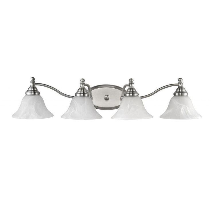Bathroom Light Fixtures Overstock 139 best lighting images on pinterest | brushed nickel, home depot