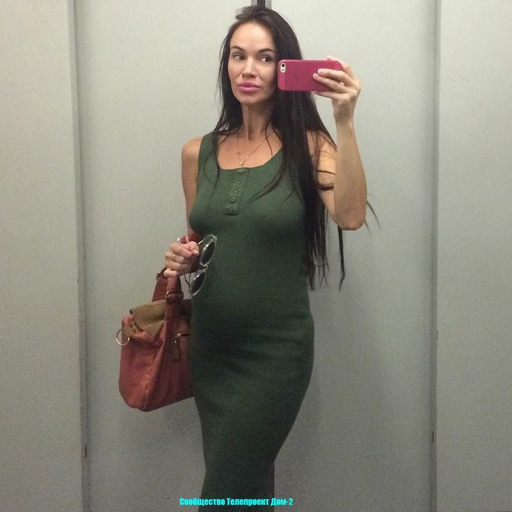 Сообщество Телепроект Дом-2: Беременная жена Степана Меньщикова разгуливает без белья