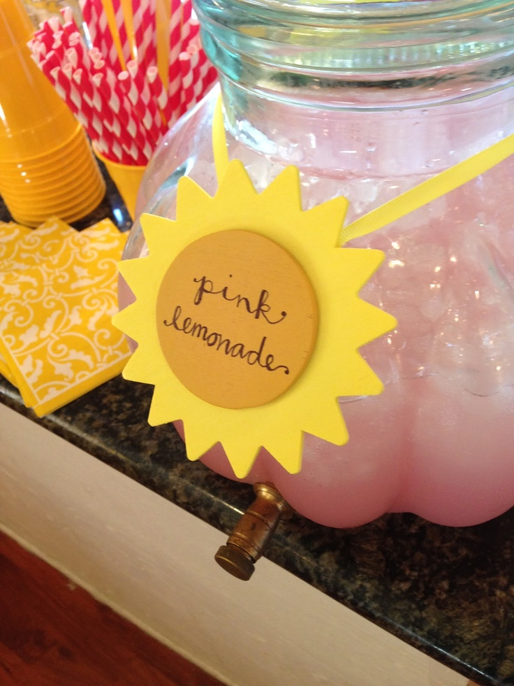 Taking One Day At A Time...: A 'You Are My Sunshine' Birthday Party...