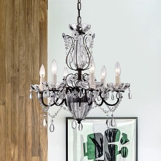 Shop for Frankenstein Antique Bronze and Crystal 6-light Chandelier. Get free shipping at Overstock.com - Your Online Home Decor Outlet Store! Get 5% in rewards with Club O! - 16479146