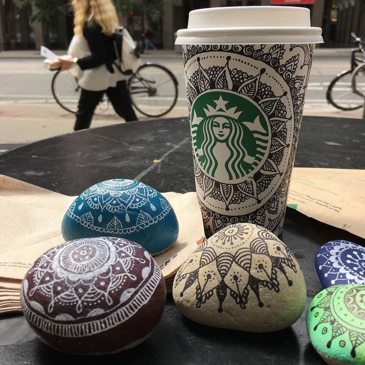 When you run out of rocks....  #kindnessrock #starbucks