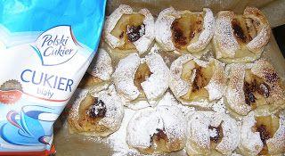 W Mojej Kuchni Lubię.. : połówki jabłek pieczone w cieście francuskim...
