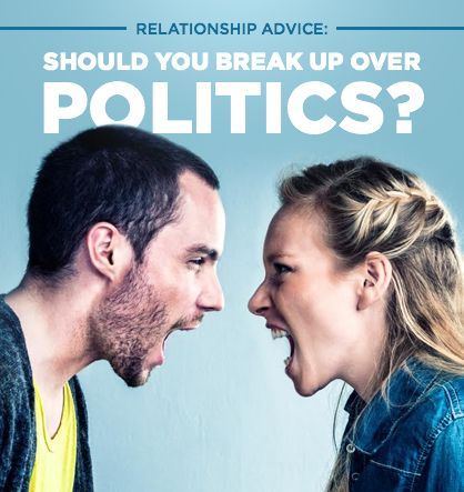 Are political differences creating problems in your relationship?