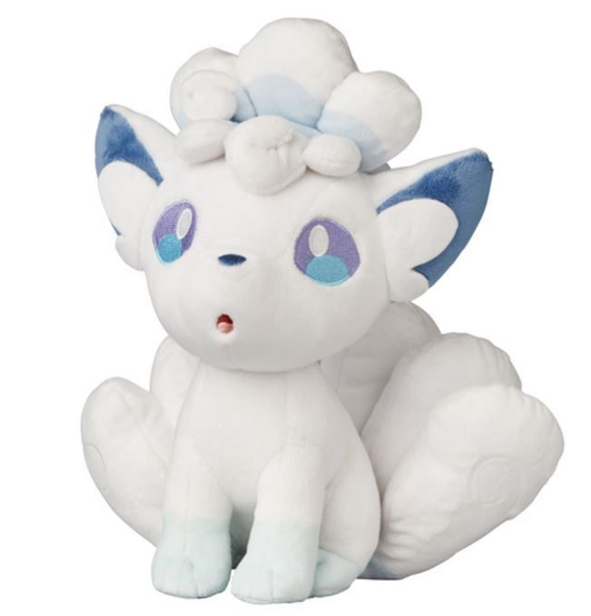 Pokemon Center Original Arolla Vulpix Plush Doll Sun & Moon Japan Standard Ship