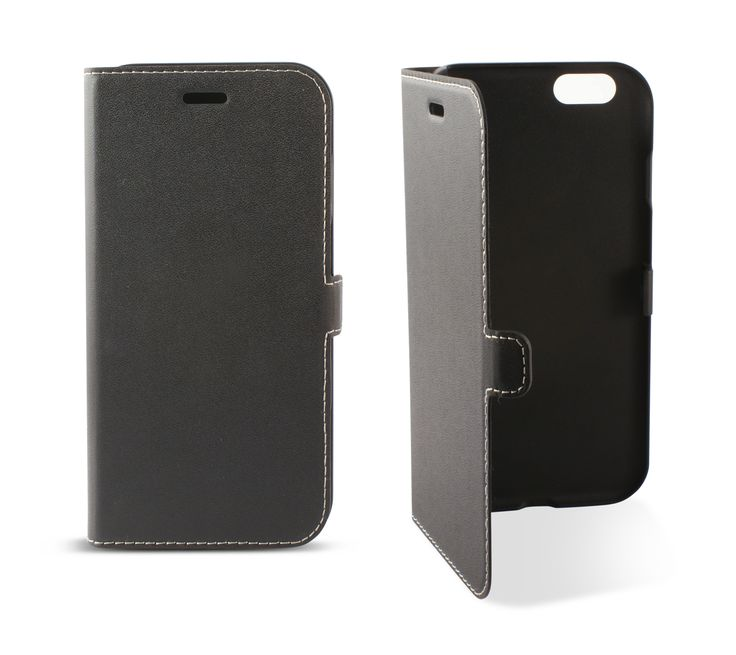 Funda folio con pestaña iPhone 6 4.7 negro http://www.tecnologiamovil.net/Producto/funda-folio-pestana-ksix-para-iphone-6-4.7-negro-b0925fu81w.html