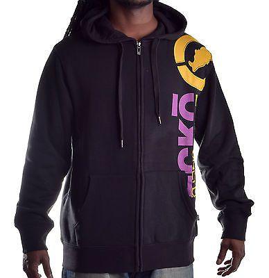 Ecko Unltd. Men's Vertical Arm Full Zip Hoodie