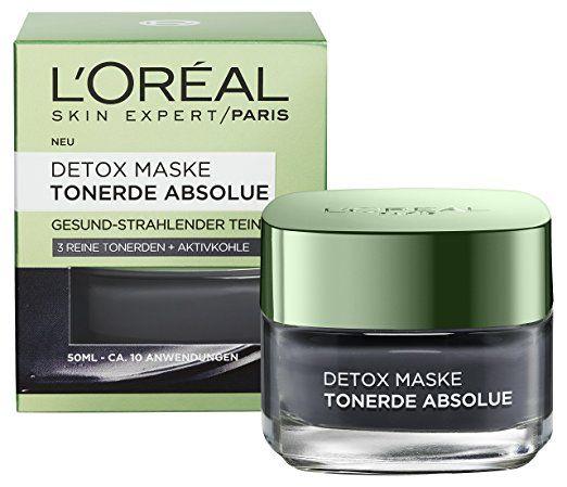 Loreal, Detox Maske, maska z glinki czarna, ok. 10 Euro
