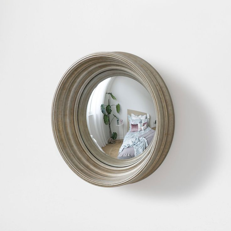 Champagne concave mirror - Decoration - New Collection | Zara Home United States of America