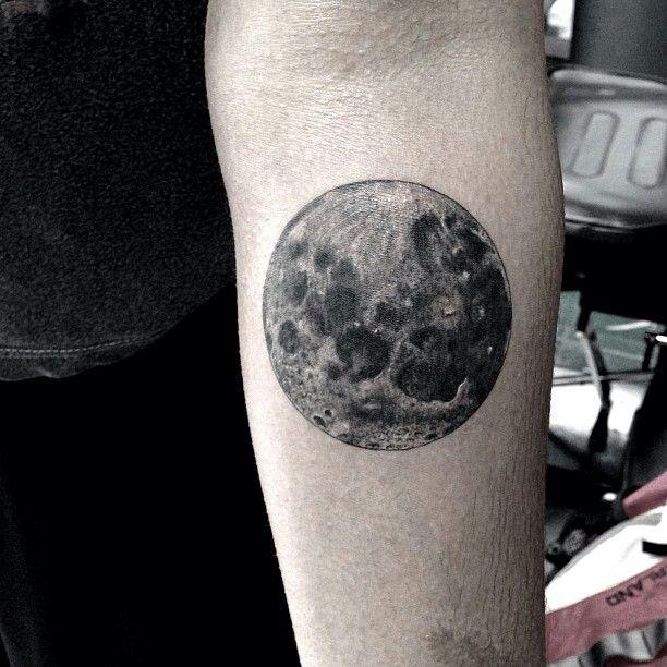 Full moon tattoo | Tattoo ideas | Pinterest