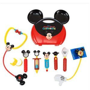 Amazon.com: Disney Mickey Mouse Clubhouse Mickey Mouse Doctor Play Set: Toys & Games