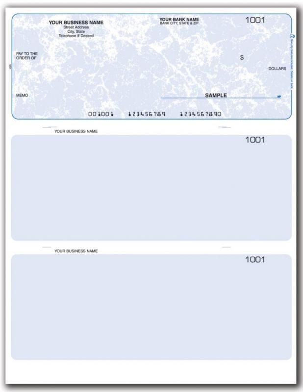 Blank Business Check Template With Images Business Checks