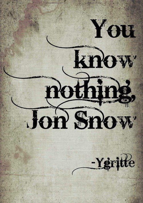 12 Best Game Of Thrones Quotes While You Wait For Season 4