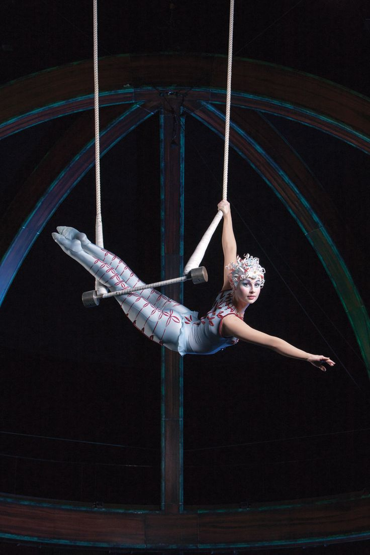 """Sometimes I feel like throwing my hands up in the air""..................Cirque Du Soleil - Cirque du Soleil"