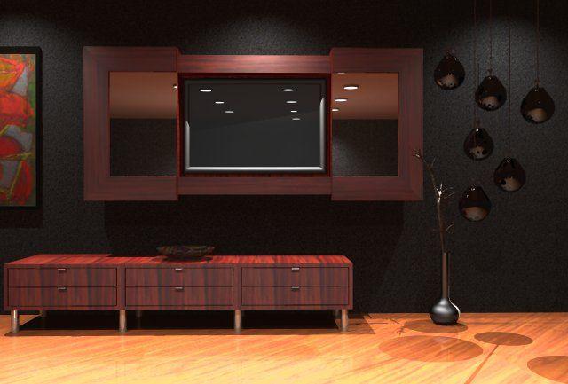 Latest Modern Lcd Cabinet Design Ipc209   Lcd Tv Cabinet Designs   Al Habib  Panel Doors