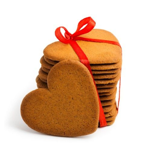 Create these heart shaped gingerbread biscuits using our metal heart-shaped cutters - pack of 4 varied designs for £4.99 from www.craftmill.co.uk  Valentine's Day Craft Ideas and supplies - Shop by Oc...