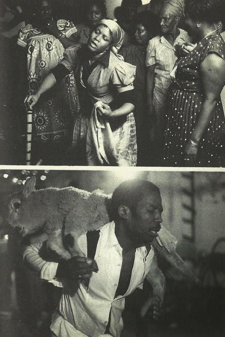 """Haitian Voodoo in Brooklyn,Taken from """"Voodoo: Truth and Fantasy"""" (1995) by Laënnec Hurbon."""