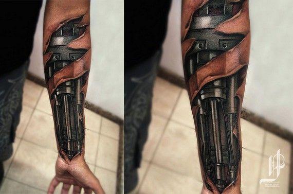 Zieke 3D-tattoeages die je mind fucken - FHM.nl