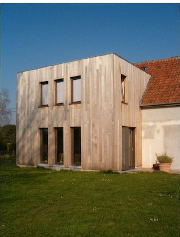 Aanbouw Keuken In Hout : Uitbouw in hout Huis en interieur Pinterest