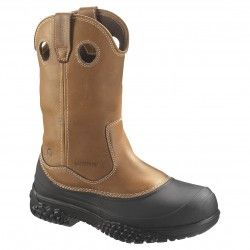 ... Wellington Work Boots - Brown. See more. Wolverine Men's Swamp Monster  Rival Wellington