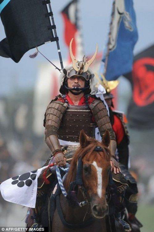 Samurai Festival Soma Nomaoi (Japan)