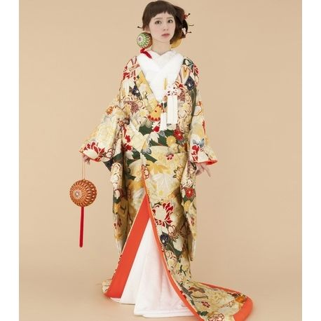 TAGAYA BRIDAL(タガヤ ブライダル)☆大胆なまり柄が印象的☆和装でも自分らしさを追求されたい方にオススメ♪ ウエディングドレスを探す ゼクシィ